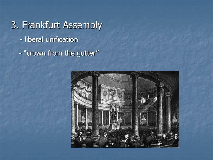 3. Frankfurt Assembly