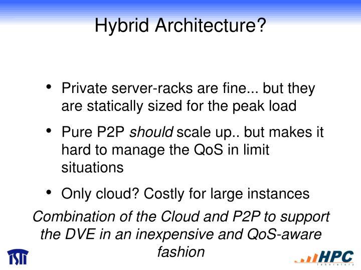 Hybrid Architecture?