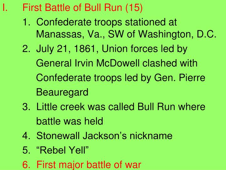 First Battle of Bull Run (15)