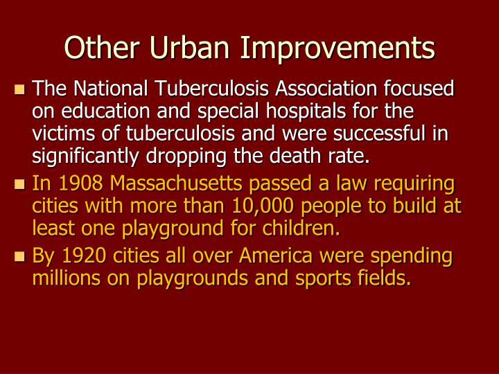 Other Urban Improvements