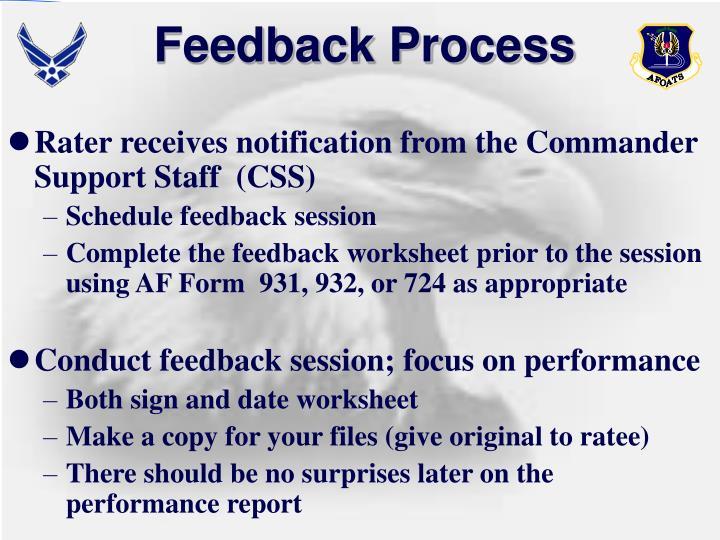 Feedback Process