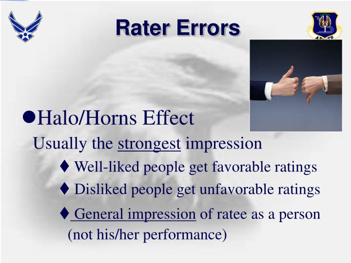 Rater Errors
