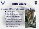 rater errors2