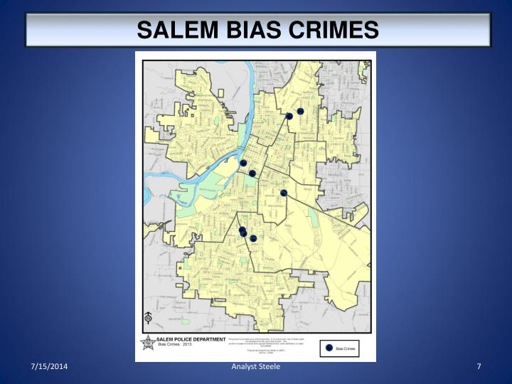 SALEM BIAS CRIMES