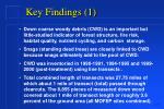 key findings 1