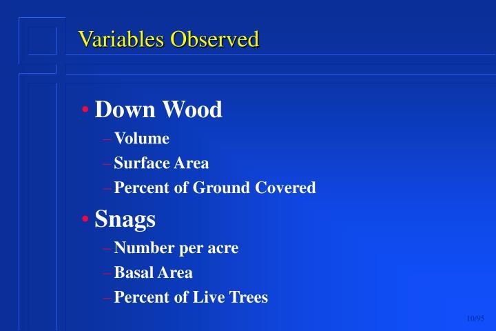 Down Wood