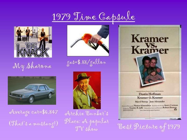 1979 Time Capsule