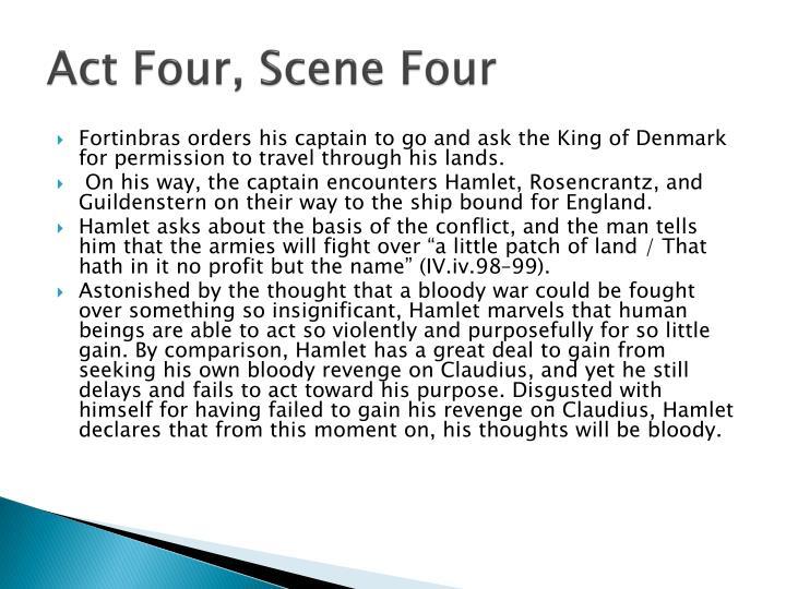 Act Four, Scene Four