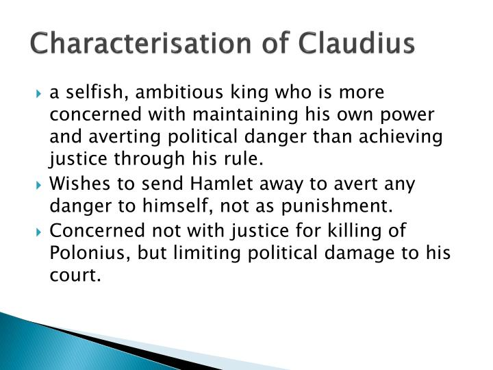 Characterisation of Claudius