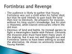 fortinbras and revenge