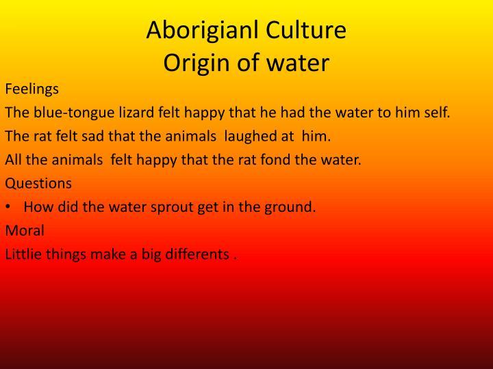Aborigianl