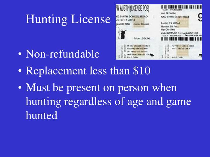 Ppt texas parks and wildlife commission powerpoint for Age requirement for fishing license
