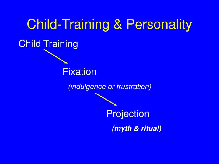 Child-Training & Personality