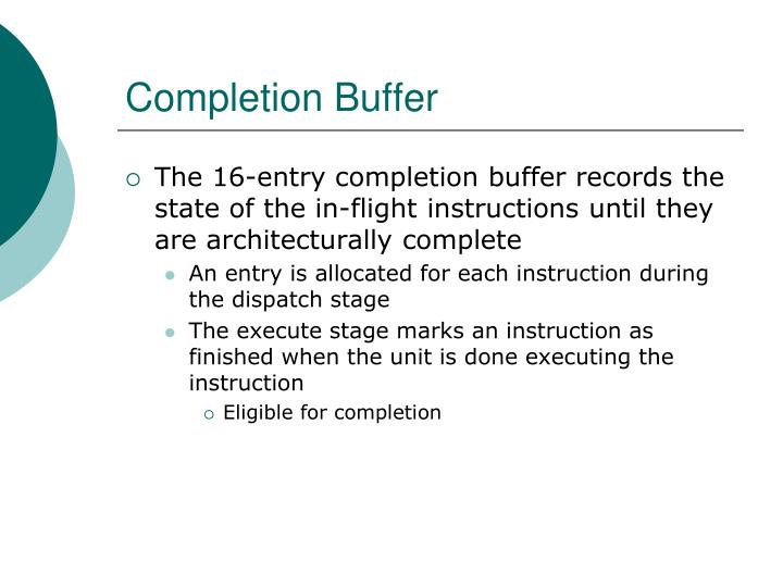 Completion Buffer