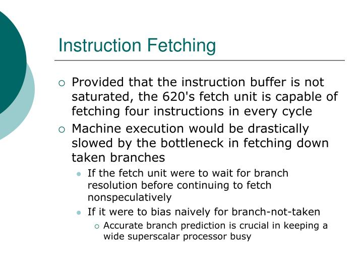 Instruction Fetching