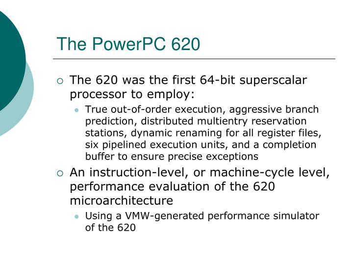 The PowerPC 620