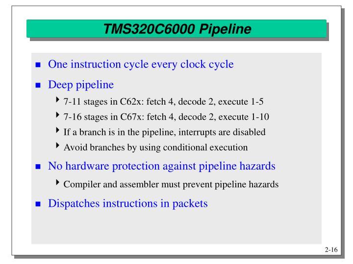 TMS320C6000 Pipeline