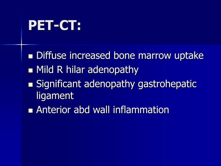 PET-CT:
