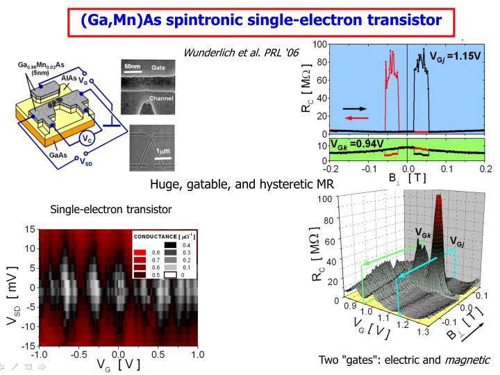 (Ga,Mn)As spintronic single-electron transistor