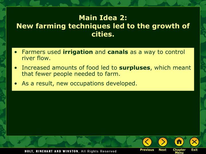 Farmers used