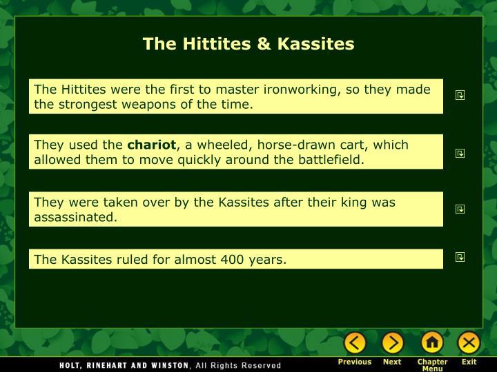 The Hittites & Kassites