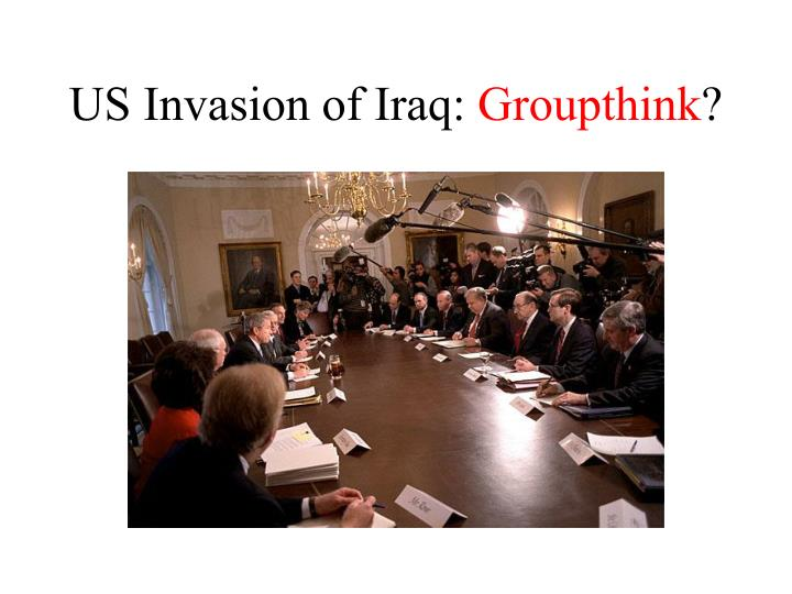 US Invasion of Iraq:
