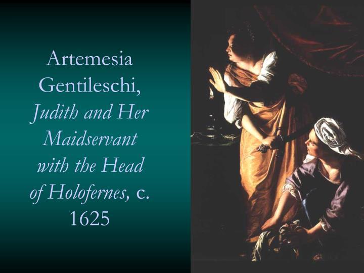 Artemesia Gentileschi,