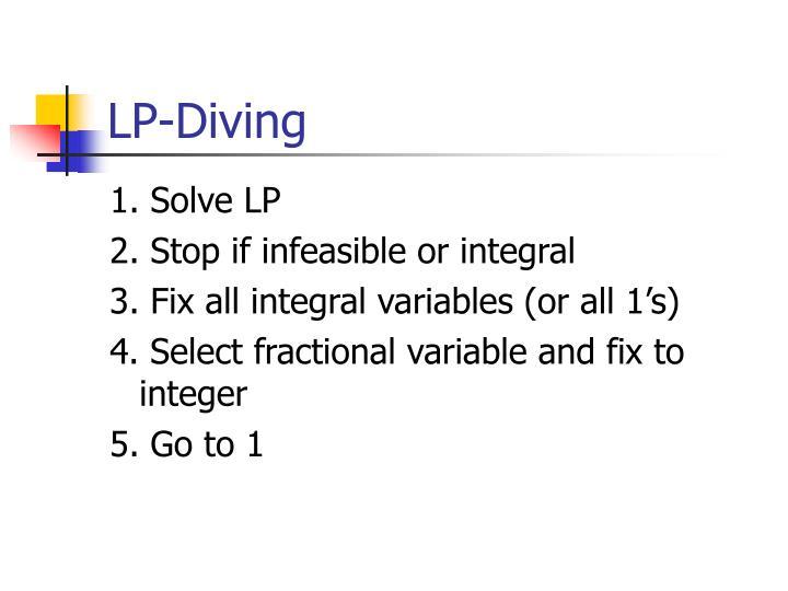 LP-Diving