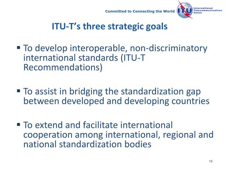 ITU-T's