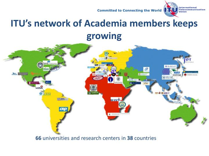 ITU's network of