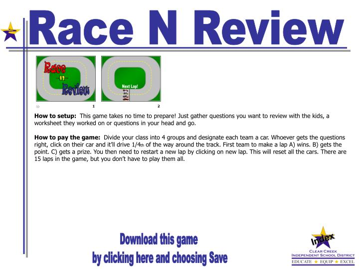 Race N Review