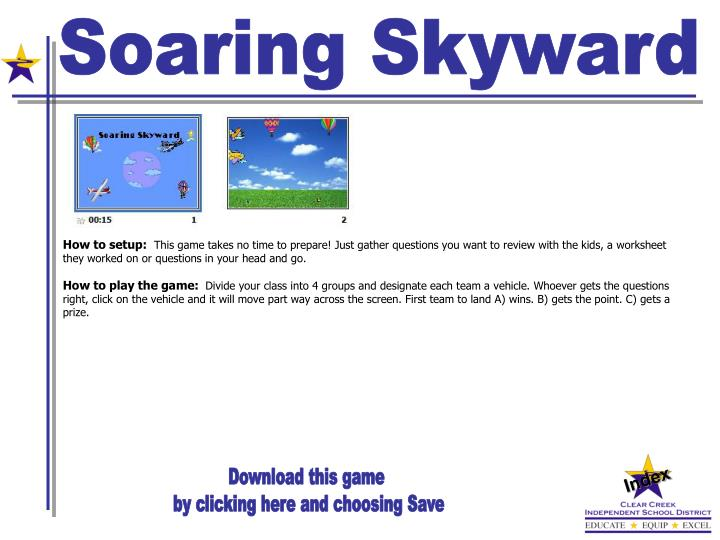 Soaring Skyward
