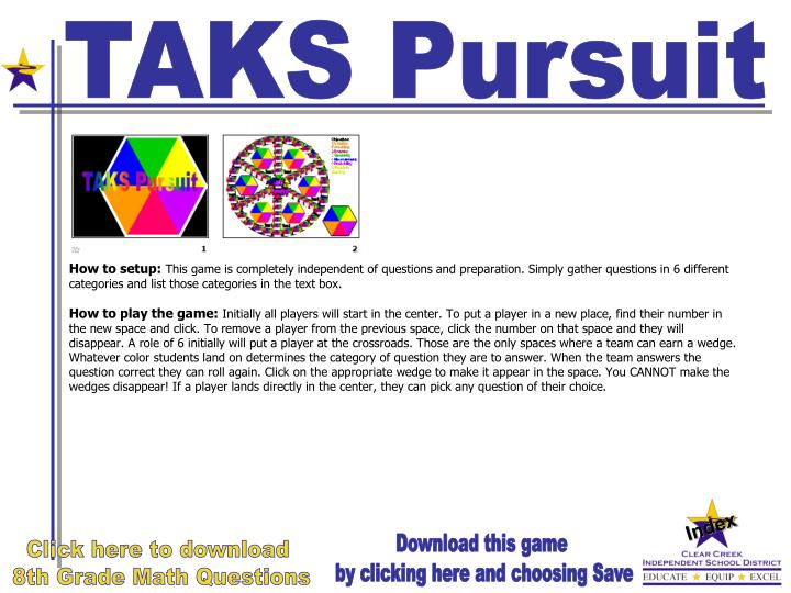 TAKS Pursuit