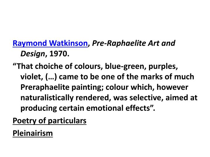 Raymond Watkinson