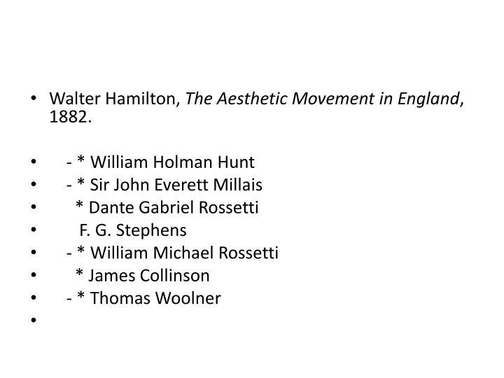 Walter Hamilton,