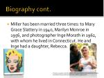 biography cont1