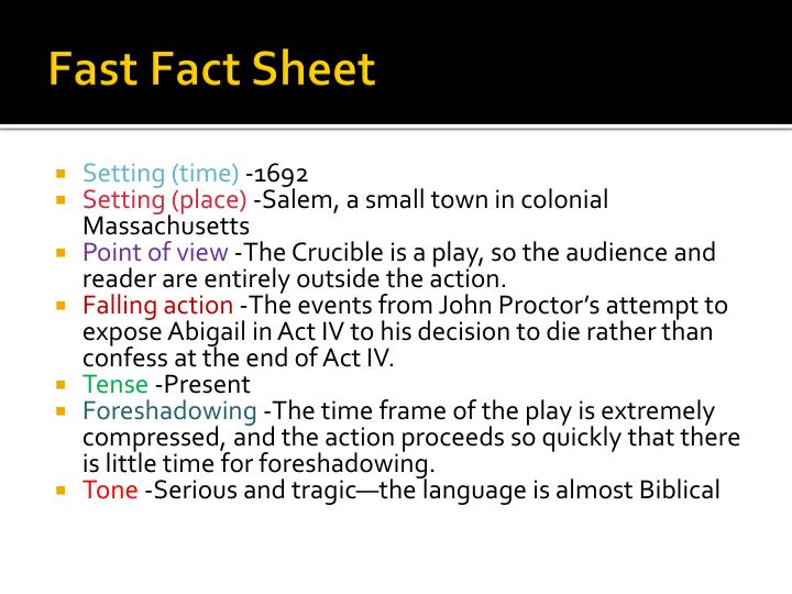 Fast Fact Sheet