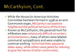 mccarthyism cont