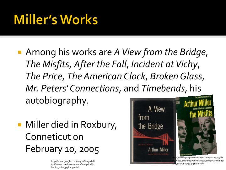 Miller's Works