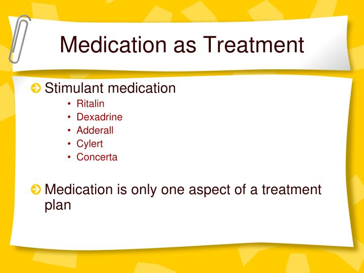 Medication as Treatment