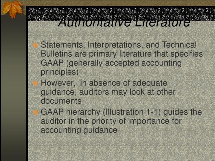 Authoritative