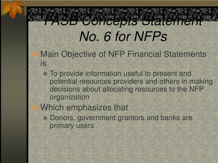 FASB Concepts Statement