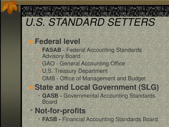 U.S. STANDARD SETTERS