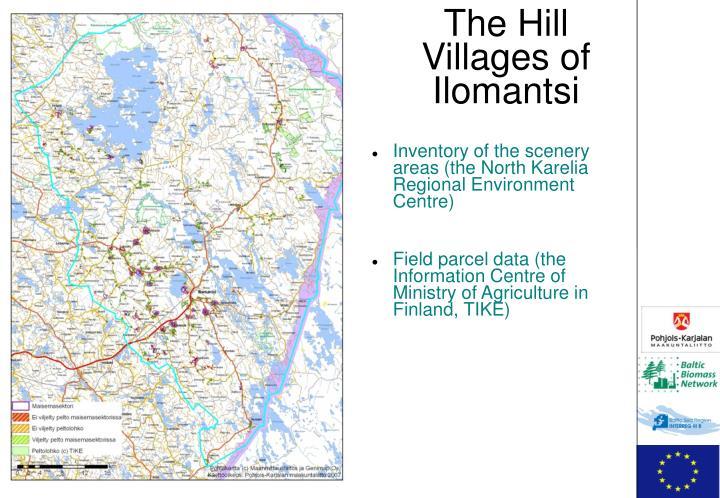 The Hill Villages of Ilomantsi