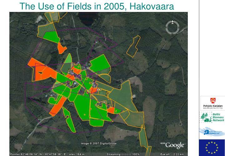 The Use of Fields in 2005, Hakovaara