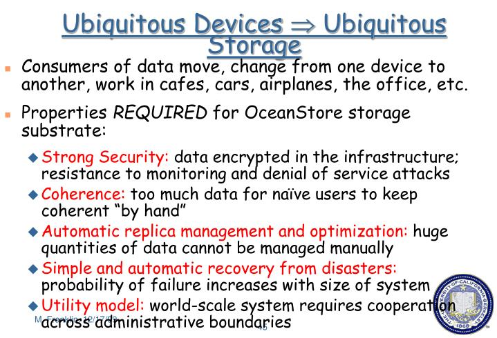 Ubiquitous Devices
