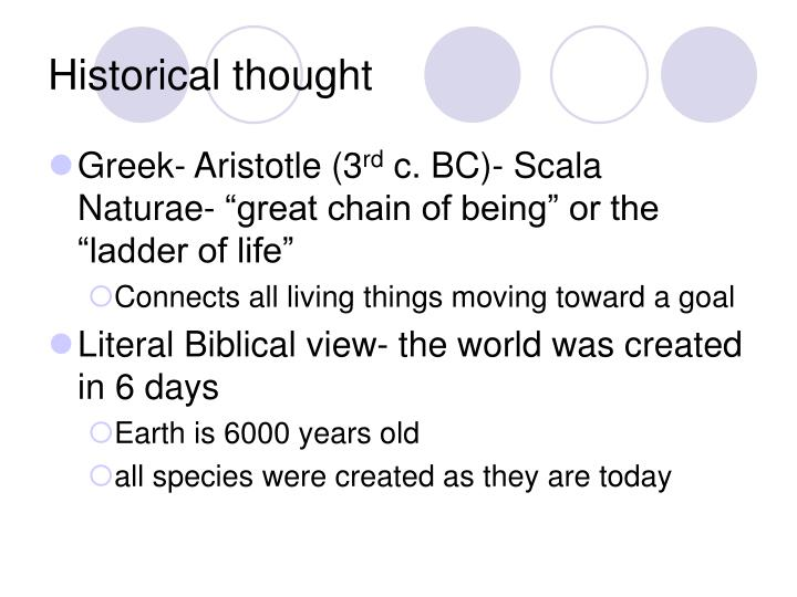 Historical thought