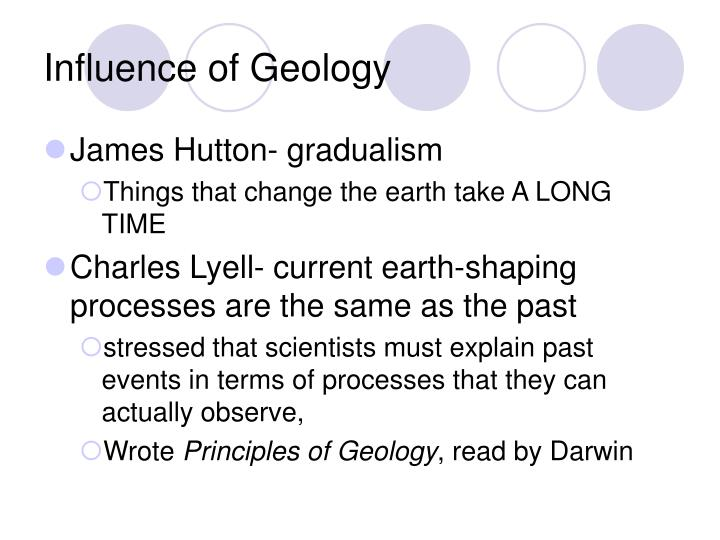 Influence of Geology