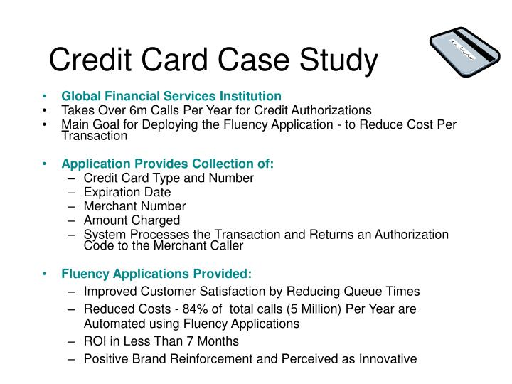 Credit Card Case Study