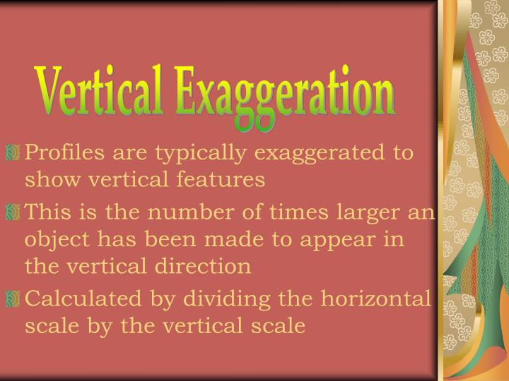 Vertical Exaggeration